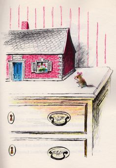 my vintage book collection (in blog form).: In the shop..... Mouse House - illustrated by Adrienne Adams