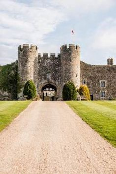 Amberley Castle — Amberley, Nr Arundel, West Sussex, England, built in the 12th century, now a stunning boutique hotel