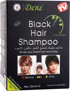 Buy hair color shampoo at best price from Easylivingbrands. The instant hair color shampoo from Dexe is a revolutionary natural hair color for grey coverage within few minutes. This is used just like a normal shampoo and it takes few minutes to give a full coverage natural hair color.