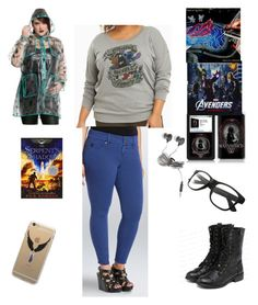 """""""Raining Here And Snowing Tomorrow"""" by chrissy-cdm ❤ liked on Polyvore featuring Torrid, Kane, yeswalker and plus size clothing"""