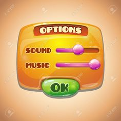 Games User Interface Stock Illustrations, Cliparts And Royalty ...