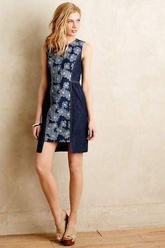Daisy Denim Dress - anthropologie.com. Lovely, if just a tad short for me ;-)