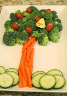 Picture perfect creative kids veggies