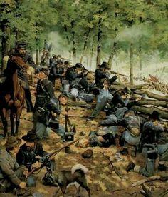 Culps Hill Gettysburg Pa