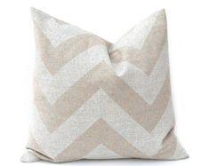 SALE Burlap Pillow Beige Pillow Decorative by FestiveHomeDecor