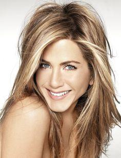 Jennifer Aniston hair for winter!