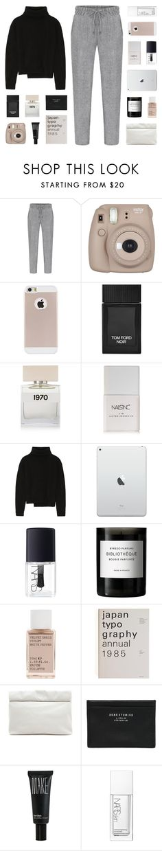 """home"" by kiiaa on Polyvore featuring Tom Ford, Bella Freud, Nails Inc., Proenza Schouler, NARS Cosmetics, Byredo, Korres, Marie Turnor, Acne Studios and Make"