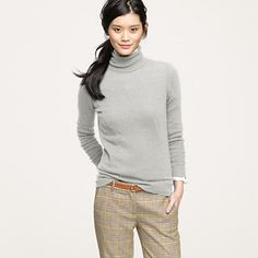 Turtleneck sweaters are a dream; they really are.
