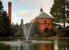Papplewick Pumping Station, Nottinghamshire – View across thelake