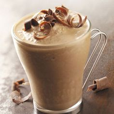 Hazelnut Mocha Smoothie