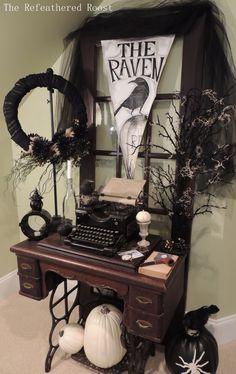 The Raven Halloween Vignette