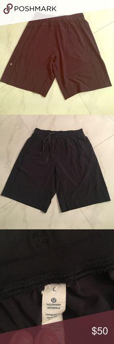 Men's Lululemon EUC Shorts No flaws at all perfect condition size large men's lulu shorts lululemon athletica Shorts Athletic