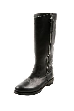 Tall Leather Equestrian Boot