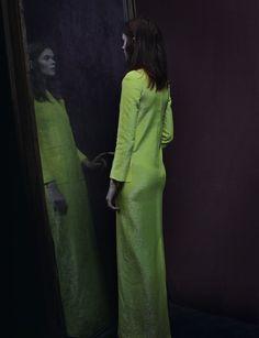 irina kravchenko photographed by julia hetta for another magazine, 2013