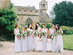 Elegant Wedding at Brympton House With Bride in Bespoke Wedding Dress With Lace Sleeves And Images From David Jenkins Photography