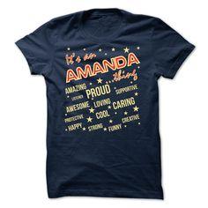 It is ✓ an Amanda thing - Limited EditionAmanda, Amanda thing, name, names, it is an Amanda thing