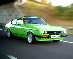 Ford Capri - I used to think 'when I can drive that will be my dream car' funny how things change!