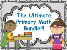 This is one of my favorites! Turn your class into Super Solving Mathematicians with a WHOLE YEAR of Fall, Winter & Spring themed addition/subtraction word problems, And Daily Number of the Day Templates! There are so many ways to use these products together!