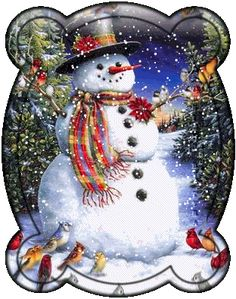 Animated Snowman Glitter GIFs and Animated Images.