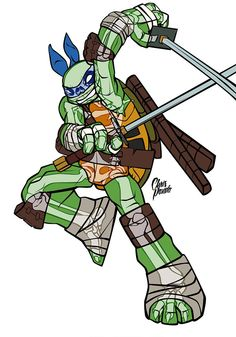 Ultimate X-Ray: Teenage Mutant Ninja Turtles - Leonardo by Chris Panda