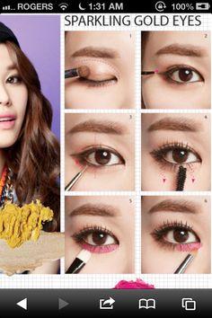 Korean makeup Korean Makeup Look, Asian Eye Makeup, What Is Contour Makeup, Makeup