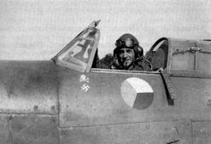 F/Sgt Otmar Kučera of No 312 Squadron RAF sits in the cockpit of Hurricane Mk IIb DU-K at RAF Kenley in 1941. The 26-year-old Czech was at the aircraft's controls on 18 June, when he claimed an Me 109 probably destroyed over Gravelines. He submitted 2 claims when flying DU-J, which included an Me 109 downed on 3 July near Hazebrouck and another over the Channel on 9 July.
