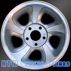 "Chevy wheels for sale Blazer GMC Sonoma 98-05. 15"" Machined rims 5063 - http://www.rtwwheels.com/store/shop/chevy-wheels-for-sale-blazer-gmc-sonoma-machined-5063/"