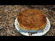 In this video Gina shows us in her priceless broken English how to make the traditional Italian Ricotta Cheese Cake. It melts in your mouth. Ricotta Pie, Ricotta Cheesecake, Cheesecake Recipes, Italian Dishes, Italian Recipes, Italian Foods, Italian Desserts, Dessert Bread, Dessert Recipes