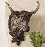 steer-head wall mount from LoneStar Decor $129.95