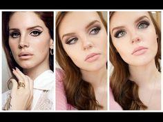 Lana Del Rey Makeup Tutorial ♡ - YouTube