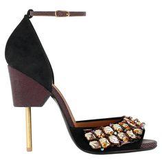 Givenchy by Riccardo Tisci sandal, Similar styles available at givenchy.com.   - HarpersBAZAAR.com