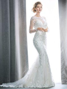 Wedding Dresses by Kenneth Winston - 1724 Wedding Dresses Lds, Spring 2017 Wedding Dresses, Wedding Dress Necklines, Wedding Dresses Plus Size, Elegant Wedding Dress, Bridal Dresses, Detachable Wedding Dress, Beautiful Gowns, Vestidos