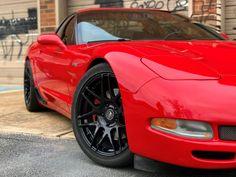 1997-2004 Corvette C5 RED Brake Caliper Covers w// CORVETTE and Z06 Script