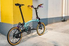 Folding Bicycle, Brompton, Cool Bicycles, Cycling, Style, Swag, Stylus, Biking, Bicycling