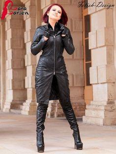 Leder Mantel Lederjacke Kleid Schwarz Echtes Leder Neu S M L XL XXL 3XL 4XL  5XL   eBay d7d35bcb9d
