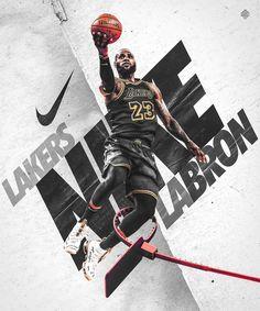 Nick Arley on Behance King Lebron James, Lebron James Lakers, Nike Lebron, King James, Lebron James Wallpapers, Nba Wallpapers, Basketball Posters, Sports Basketball, Basketball Bedroom