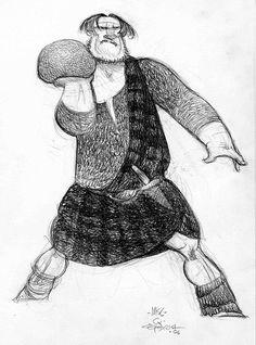 Illustration and Inspiration: Carter Goodrich - Brave Character Design Character Design References, 3d Character, Character Outfits, Character Concept, Brave Characters, Animation Sketches, Disney Concept Art, Poses, Illustrations
