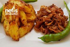 Fırında Yoğurtlu Patates ( Enfess )