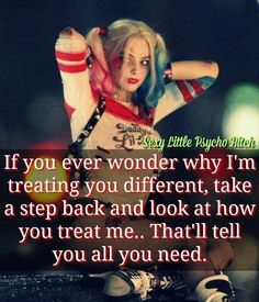 harley quinn own that shit own it quote Bitch Quotes, Joker Quotes, Badass Quotes, True Quotes, Great Quotes, Motivational Quotes, Inspirational Quotes, Harly Quinn Quotes, Papi