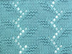 The Branches knitting stitch pattern is located in the Lacy Stitches category.