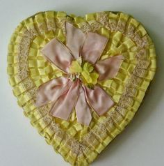 Vintage Valentine Chocolate Box via Maison Decor