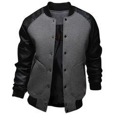 College Varsity Leather Jacket
