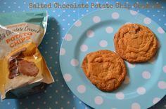 Salted chocolate potato chip cookies #sweetandsalty