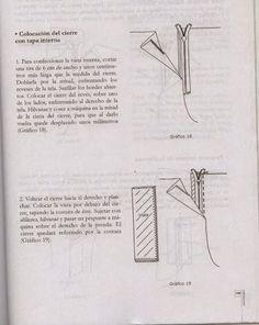 modelist kitapları: Miguel Angel Cejas - confección y diseño de ropa Miguel Angel, Mccalls Patterns, Sewing Patterns, Costura Diy, Modelista, Embroidery Designs, Tips, Manual, Kid Outfits