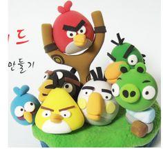 Tutoriel : Comment faire les personnages de Angry Bird en Fimo