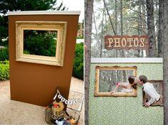 Mil capas de tul: marcos Photocall