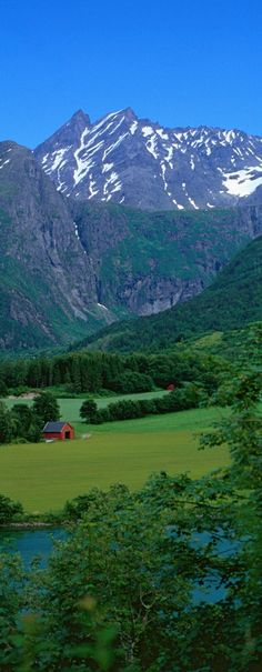 The Gudvangen Valley, Norway