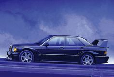 Mercedes-Benz 190E 2.5-16 EVO2 I have always loved this car. The AMG trim was my favorite but the Evo2 is my second choice