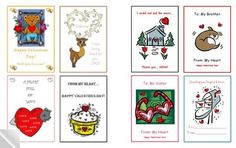 Free Printable Valentines: Valentine Mini Helper