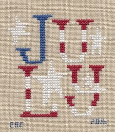 Garden Grumbles and Cross Stitch Fumbles: July Stitching July Birds